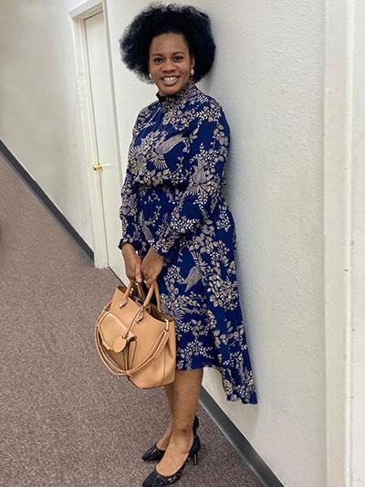 Pastor (Mrs) Edith Egbudiwe-Resident Pastor